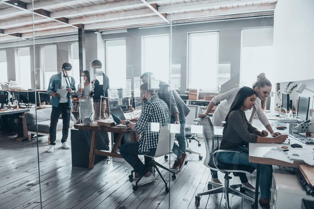 Los nuevos centros de negocios y espacios coworking
