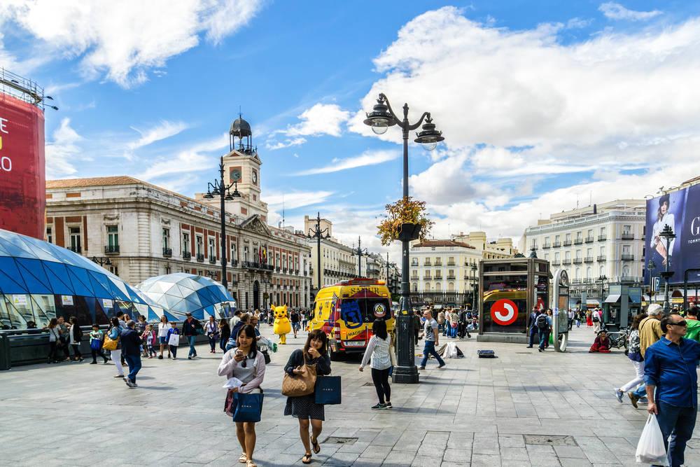 Madrid, una ciudad en la que los servicios son clave para que siga creciendo